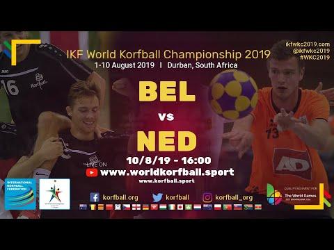 Livestream WK-finale met Fleur Hoek en het Nederlands korfbalteam om vier uur