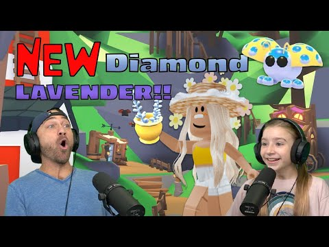 Playing the Adopt Me Farm Shop Update! Throwing Lavender To Get All the New Pets!