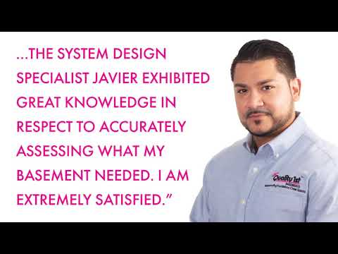 Check out a recent experience one of our customers had when System Design Specilaist, Javier came out to their home to inspect their basement.