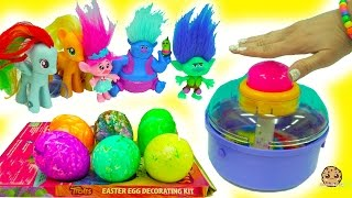 Spin An Egg Does It Work? My Little Pony Twilights Art Class Making Trolls Eggs