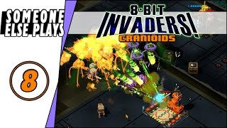 8-Bit Invaders! | Cranioids - Ep. 8 - Mother May I! | (Let's Play/PC Gameplay/campaign)