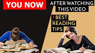 How To Stay Focused While Reading A Book | 7 BEST READING TIPS