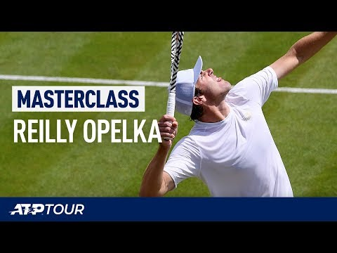 Fire Your Serve Like Reilly Opelka | MASTERCLASS | ATP