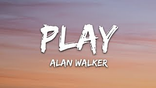 Alan Walker, K-391, Tungevaag, Mangoo - PLAY (Lyrics)