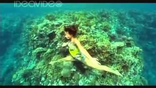 Marina Kazankova  freediver