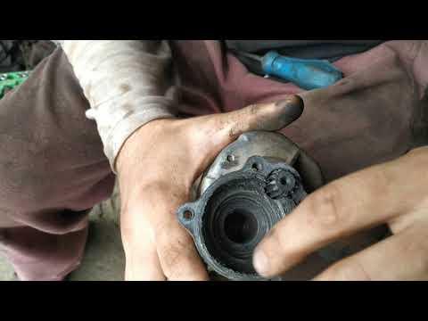 стартер крутит но не заводится мотор, замена бендикса стартера сенс, ланос 1 4