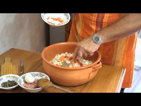 Esempi di cibo separato durante una settimana per perdita di peso