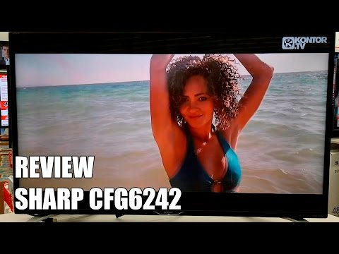 Review Sharp CFG6242 Nuevo modelo Television Smart TV 2016