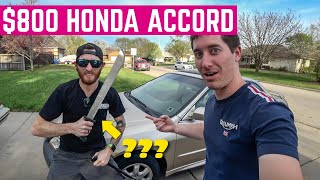 You'll Never Believe What We FOUND In This $800 Honda Accord Flip *So Many OBD2 Codes*