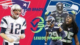 Patriots vs. Seahawks   Tom Brady Duels the Legion of Boom Highlights   (Week 6, 2012)   NFL