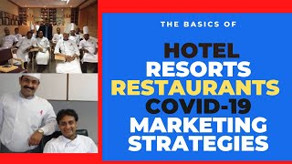 New Hotel marketing strategies after lockdown COVID 19 Impact on the Hospitality industry 2020