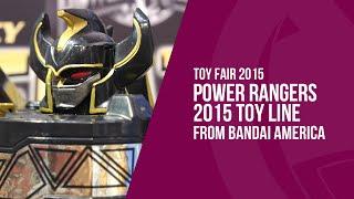Toy Fair 2015 - Power Rangers 2015 Toy Line