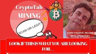 Cryptotab scam - मुफ्त ऑनलाइन वीडियो
