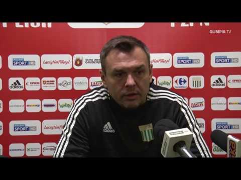 Konferencja prasowa przed meczem Olimpia Grudziądz - Stomil Olsztyn