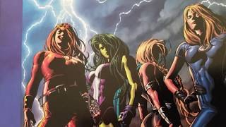 The Marvel Art Of Mike Deodato Jr.! Part #2