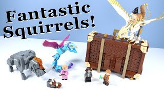 LEGO Fantastic Beasts Newt's Case of Magical Creatures Review