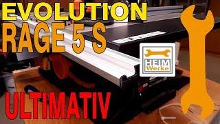 Evolution Rage 5S das ultimative Tuning; Sanftanlauf, Winkleanschlag