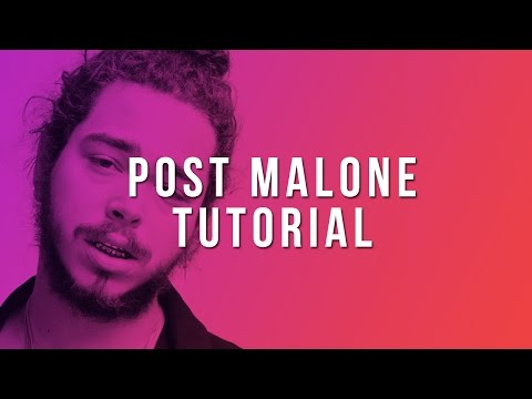 How To Make A Post Malone Type Beat (FL Studio Tutorial)