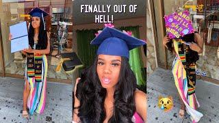 HIGH SCHOOL GRADUATION VLOG ! *i Cried*
