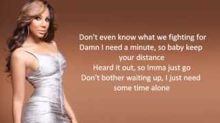 Tamar Braxton - All The Way Home [Lyric Video]