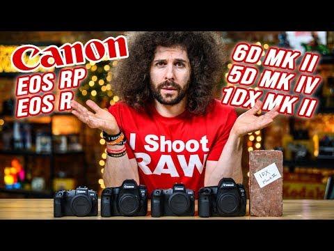 External Review Video yDw17WfUVKk for Canon EOS RP Full-Frame Mirrorless Camera