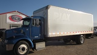 2005 Peterbilt 330 24' Box Van Moving Truck