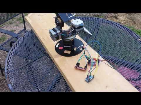 K3NG rotator controller + 3d printed az/el rotator - inspired by