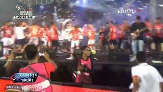 Meski Tak Juara, Bali United Berpesta Rayakan Capaian Mereka
