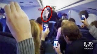 Top 13 Most Scary Videos Caught on Airplanes - Unbelievable Shocking Video In Planes