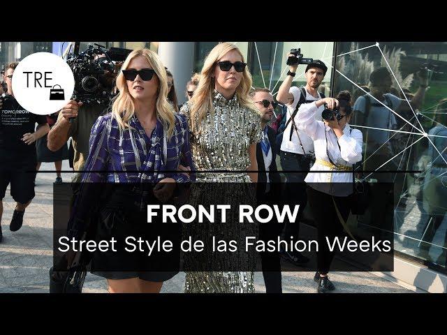 Los looks de STREET STYLE de las Fashion Weeks que serán tendencia en otoño invierno 2018/19 | TRE