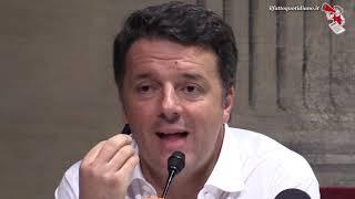 """Ex Ilva, Renzi: """"Calenda? Non sopporto chi fa sciacallaggio nei talk in cerca di visibilità"""""""