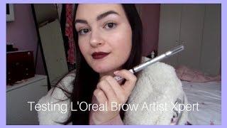 Testing L'Oreal Brow Artist Xpert