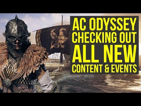 Assassin's Creed Odyssey DLC - Checking Out All The New Stuff (Weekly Reset June 4th)