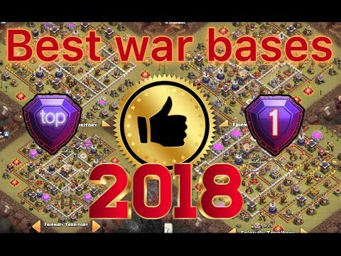 Top 20 Th12 War Base 2018 | Anti 3 war Base | Th12 - Youtube