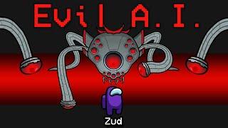 NEW Among Us EVIL A.I. ROLE?! (AI Mod)