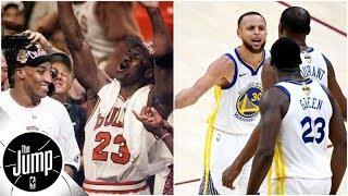 Are 2018/19 Warriors better than 1996 Bulls? | The Jump | ESPN