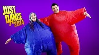 """CHUB SUITS DANCE BATTLE!"" Just Dance 2014 Rematch- Husband vs Wife"
