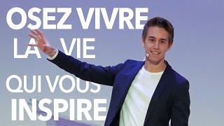 """""""Osez Vivre La Vie Qui Vous Inspire"""" Conférence Avec David Laroche"""