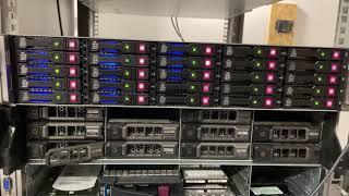 dl380e 600gb sas 10k raid 0 strip p420i raid configuration chia mining HP