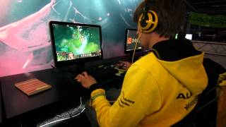 Dendi - Wicked sick Invoker training in WTF mode