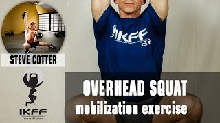 Over Head Squat mobility