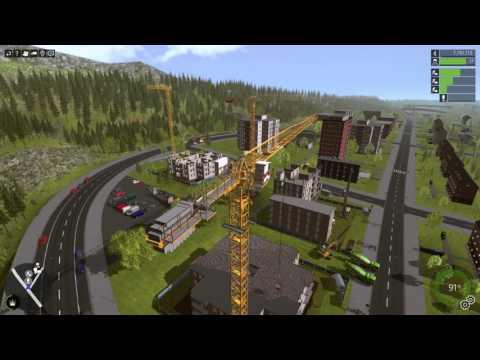 Construction Simulator 2015 - Trailer - english - смотреть