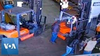 Dramatic Video Captures $40-Million Gold Heist in Brazil