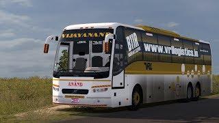 ets2 vrl travels volvo sleeper bus mod download - मुफ्त