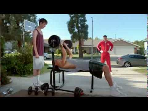 2013 Kia Optima Blake Griffin Time Travels - 2006 Bench Press Ad2013 Kia Optima Blake Griffin Time Travels - 2006 Bench Press Ad
