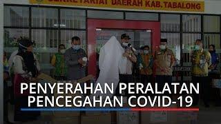 Ketua DPRD Kalsel Serahkan Bantuan Peralatan Pencegahan Covid-19