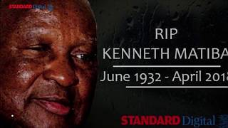 Kenyans pay tribute to the late Kenneth Matiba