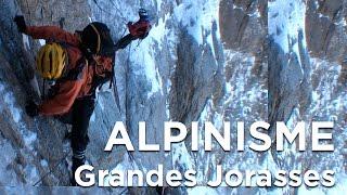 #2 Les Grandes Jorasses Face Nord Colton MacIntyre Chamonix Mont Blanc alpinisme montagne