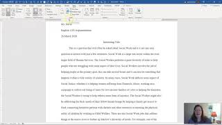 How to Apply True Double Spacing and One-Inch Margins to Your MLA Documents