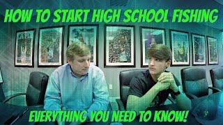 How to Start Fishing High School Tournaments ( How to Start a High School Fishing Club )